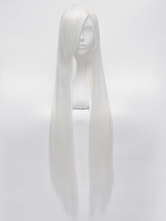 Anime Costumes AF-S2-602885 X-Men Storm Cosplay Wig Ororo Munroe White Long Cosplay Wig