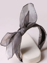 Anime Costumes AF-S2-603521 Halloween Gray Bow Cosplay Hairband for Women