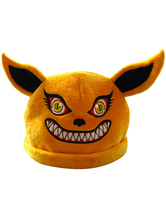 Anime Costumes AF-S2-603493 Naruto Kyuubi Cosplay Hat Kyuubi Doll Anime Merchandise
