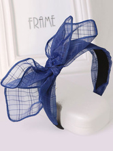 Anime Costumes AF-S2-603519 Halloween Blue Bow Cosplay Hairband for Women