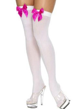 Anime Costumes AF-S2-603545 Halloween Bow Over-The-Knee Women's Sexy Stockings