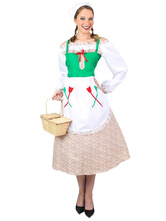 Anime Costumes AF-S2-603885 Halloween Victorian Maid Costume For Female