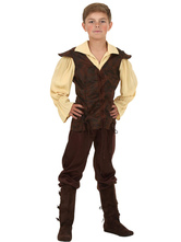 Anime Costumes AF-S2-604537 Renaissance Costume For Toddler Halloween Boy Costume Set
