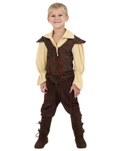 Anime Costumes AF-S2-604535 Renaissance Costume For Toddler Halloween Boy Costume Set
