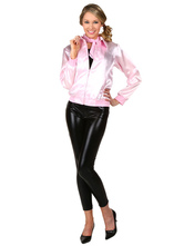 Anime Costumes AF-S2-604525 Grease 50s Costume Retro Pink Lady Jacket hen party Dance Costume Fancy Dress