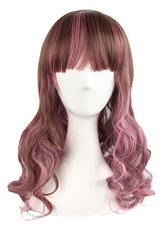 Anime Costumes AF-S2-605335 Women's Split Curly Synthetic Full Wigs