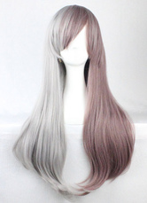 Anime Costumes AF-S2-605311 Taupe Natural Wave Synthetic Wigs
