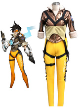 Anime Costumes AF-S2-607997 Overwatch OW Tracer Halloween Cosplay Costume