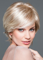 Anime Costumes AF-S2-608923 Women's Short Curly Wigs Blonde Full Wigs In Heat-resistant Fiber