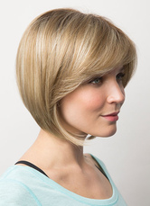 Anime Costumes AF-S2-608979 Short Wigs Flaxen Tousled Bobs