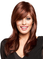 Anime Costumes AF-S2-608959 Mahogany Straight Long Wigs