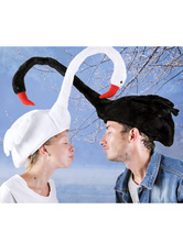 Anime Costumes AF-S2-609629 Halloween Funny Swan Hat