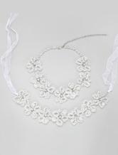 Wedding Jewelry Sets Rhinstone Decoration Concise Ribbon Evening Jewelry Sets