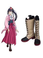 Anime Costumes AF-S2-610963 Kabaneri of the Iron Fortress Koutetsujou no Kabaneri Ayame Cosplay Shoes
