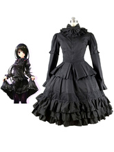 Anime Costumes AF-S2-611885 Date A Live Tokisaki Kurumi Cosplay Costume Gothic Lolita Dress