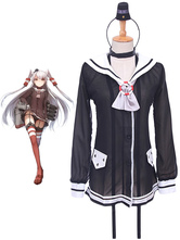 Anime Costumes AF-S2-611887 Kantai Collection KanColle Amatsukaze Cosplay Costume School Uniform