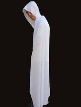 Halloween fantasma branco manto com capuz  Halloween