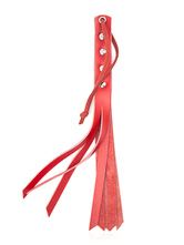 Anime Costumes AF-S2-612673 Halloween Red Cowhide Whip Sex Toy