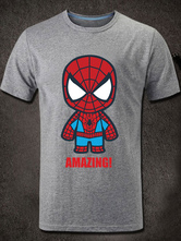 Anime Costumes AF-S2-613277 Halloween The Spiderman Short Sleeves Cotton T-Shirt