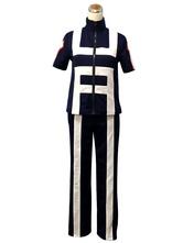 Anime Costumes AF-S2-613359 My Hero Academia Boku no Hero Academia Bakugou Katsuki Cosplay Costume Gym Suit