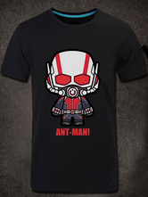 Anime Costumes AF-S2-613285 Halloween Ant-Man Print Cotton T-Shirt Marvels Super Hero Costume