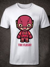 Anime Costumes AF-S2-613279 Halloween The Flashman DC Comics Short Sleeves Cotton T-Shirt