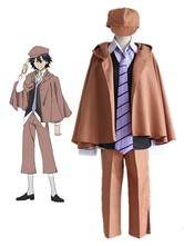 Anime Costumes AF-S2-613349 Bungo Stray Dogs Edogawa Ranpo Cosplay Costume