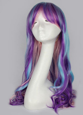 Anime Costumes AF-S2-613963 Highlighting Long Curly Wigs