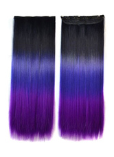 Anime Costumes AF-S2-614015 Women's Hair Extensions Long Straight Wigs Four-color Wigs In Heat-resistant Fiber