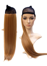Anime Costumes AF-S2-614011 Long Wig With Bangs Straight Synthetic Wig Extension