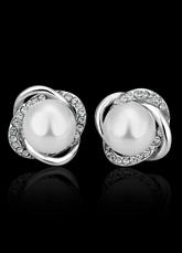 Orecchini da sposa strass da sposa orecchini perle decorazione