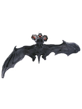 Anime Costumes AF-S2-615701 Halloween Rubber Bat Ghost Hanging Decoration