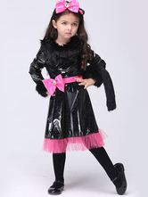 Anime Costumes AF-S2-615669 Halloween Cat Dress Animal Costume Cosplay for Kid