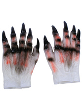 Anime Costumes AF-S2-615729 Halloween Ghost Synthetic Gloves