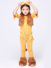 Anime Costumes AF-S2-615679 Halloween Lion Costume Animal Costume Cosplay for Kid