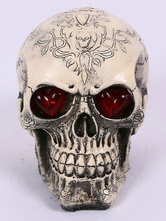 Anime Costumes AF-S2-615731 Halloween Skull Decoration with Light