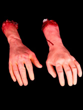 Anime Costumes AF-S2-615761 Halloween Fake Bloody Hands Decoration