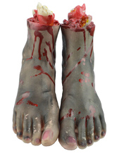 Anime Costumes AF-S2-615775 Halloween Dreadful Fake Feet Decoration