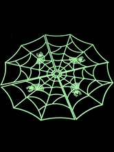 Anime Costumes AF-S2-615747 Halloween Green Plastic Spider Web