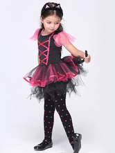 Anime Costumes AF-S2-615675 Halloween Demon Dress Devil Costume Cosplay for Kid