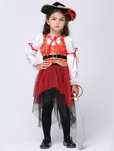 Anime Costumes AF-S2-615681 Halloween Pirate Costume for Kid Three Pieces