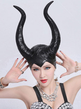 Anime Costumes AF-S2-615567 Halloween Maleficent Hood Evil Witch Jazz Performance Accessories