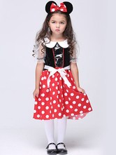 Anime Costumes AF-S2-615657 Halloween Mickey Mouse Costume Cute Animal Costume Cosplay for Kid