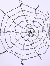 Anime Costumes AF-S2-615749 Halloween Nylon Spider Web 1.5m Diameter