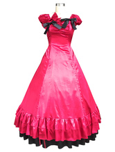 Anime Costumes AF-S2-615809 Red Classic Vintage Gothic Lolita Dress Halloween Cosplay Costume