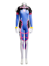Anime Costumes AF-S2-616259 D.VA Overwatch OW Hana Song Cosplay Costume Cosplay Jumpsuit