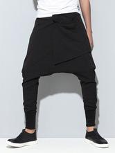 Pantalones harem para hombres Pantalones harem en color negro Pantalones  harem en negro fb5d25f87449