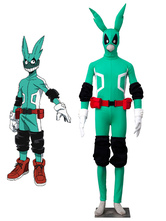 Anime Costumes AF-S2-619399 My Hero Academy Battle For All Midoriya Izuku Green Fighting Uniform Anime Cosplay Costume