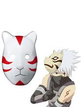 Anime Costumes AF-S2-620455 Naruto Hatake Kakashi Anbu Cosplay Mask