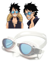 Anime Costumes AF-S2-620459 One Piece 2017 Film Gold Monkey D Luffy Swimming Goggles Anime Cosplay Accessories
